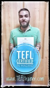 Medhi FLE TEFL Trainer Madrid