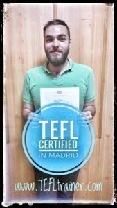 Medhi FLE TEFL Trainer Madrid